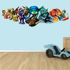 Skylanders Pared Arte Decoración Sticker Decal, Mural, Niños Dormitorio con el logotipo