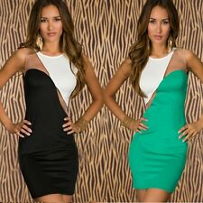HOT SEXY OPEN CHEST CLUB WEAR FASHION WOMENS CUT OUT BODYCON BANDAGE DRESS