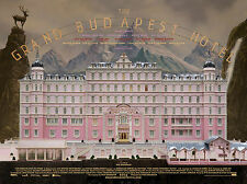 The Grand Budapest Hotel Movie Poster A0-A1-A2-A3-A4