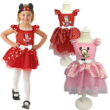 Sexy Mickey Mini Fairy Tale Fancy Dress Party Wedding  Mouse Print Costume 2-7T