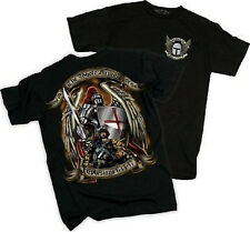 """NEW US MILITARY """"Armor of God"""" T-Shirt by Black Ink Design 100% Cotton USA"""