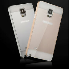 Luxury Aluminum Metal bumper PC Hard Case Cover For Samsung Galaxy S4 S5 Note 3