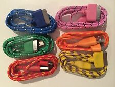 Strong Braided USB data sync charger cable For Apple iPhone 4 4S iPad 2 3