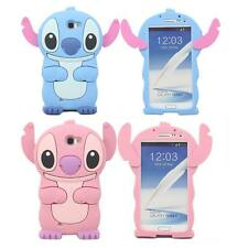 3D Cute Cartoon Soft Silicone Rubber Skin Case Cover for Samsung Galaxy Phone