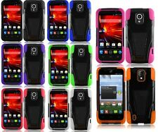 For ZTE Majesty Z796C N9511 Source Rugged Dual Layer Hybrid Armor Cover Case