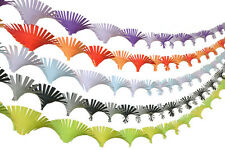 Crepe Paper Hand Fringed Ceiling Decoration Streamer  Party  Wedding Christmas