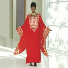 Eshe Caftan Dress New Red or Purple  Ashro Size L / XL 2X / 3X