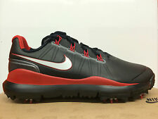Nike Tiger Woods TW 14 2014 Golf Shoes Mens 599416-001 New Black, Grey Red