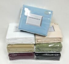 "Microfiber Sheet Set Wrinkle Resistant Super Soft ALL SIZES and COLORS 18"" DEEP"