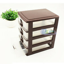 Home Office Organizer Makeup Jewelry Necklace Drawer Container Craft Storage Box