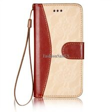 """iPhone6 Leather Wallet Case Cover Lace Pattern Holder Stand for Apple 6 (4.7"""")"""