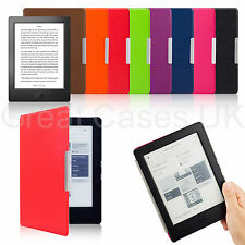 ULTRA THIN PU LEATHER SMART CASE COVER FOR NEW KOBO AURA H2O WITH SLEEP WAKE