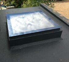 Electric or Manual Opening Flat Roof Window Skylight Rooflight Triple Glazed