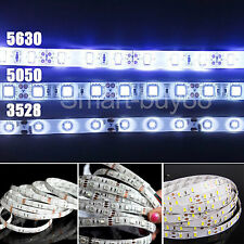5M 3528 5050 5630 SMD LED Strip Light Ruban Eclairage fête Lampe Amploue 12V New