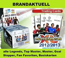 PANINI Champions League 2012/2013 Adrenalyn XL - Set - Legends,Master