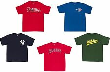 MLB Baseball Official Wordmark Majestic Men's T-Shirt - Pick Team