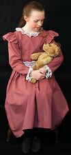 Girls Edwardian/Victorian/WW1/World Book Day DAY DRESS  Costume  all ages