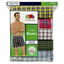 FRUIT OF THE LOOM 5 PACK BOXER SHORTS (NEW SIZING)