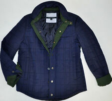 2015 NWT TOMMY HILFIGER MEN'S BUSINESS QUILTED COAT JACKET BARN MIDDLEBURY NAVY
