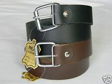 "HEAVY DUTY 100 % GENIUNE LEATHER HANDMADE BELTS ( MENS)1 1/2"" with FREE SHIPPING"