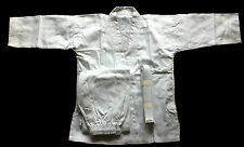 Judo/Karate Suit*New Adult-Child White Gi PolyCotton+Free Belt Quality ALL SIZEs