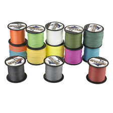 8 Strands 100M Braid PE Dyneema Fishing Line Spectra 10LB-300LB Multicolors 109Y