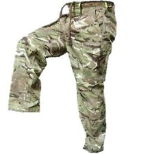 BRITISH ARMY ISSUED MTP TROUSERS S95 CADET CAMO AIROSOFT FISHING HIKING