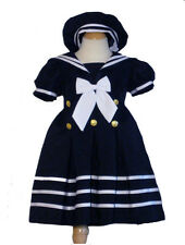 Infant, Toddler Girl Sailor, NavyBlue, Size:  Medium, Large, X-Large,, 2T,3T.4T