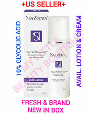 Neostrata GLYCOLIC RENEWAL Smoothing CREAM & LOTION 10% Glycolic Acid BNIB