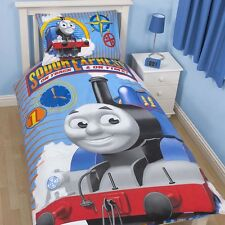 Kids Thomas the Tank Engine Single Quilt Duvet Set Bedding Boys Girls Reversible