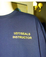 US Navy UDT SEALS Instructor T-Shirt Underwater Demolition Devgru Seal Team 6