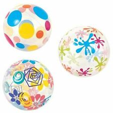 """BEACH BALLS,.PLASTIC INFLATABLE, 24"""", HOLIDAY,POOL,WATER, SEA, & FREE POSTAGE."""
