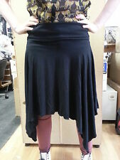 Ex Pilot Black witchy hem skirt