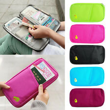 Travel Trip Passport Credit ID Card Cash Wallet Purse Holder Case Organizer Bag