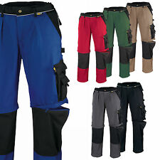 Multifunktions 2in1 Cordura Arbeitshose, Bundhose Texxor Canvas 320 Tobago