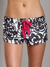 Juicy Couture Loungewear Geo Floral Shorts Regal Combo