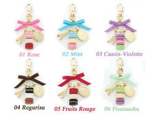 LADUREE Key Chain Ring Macaron 6 colors Original Box Japan