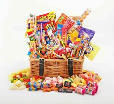 Deluxe RETRO Sweet Hamper Large Gift Box  - Choice of Sizes Birthday Thanks Xmas