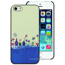 NEW Flower Vases Printed Hard Back Case for Apple iPhone 4S 4 5S 5 Cover