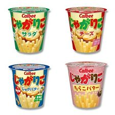 Japanese Snack Food Calbee Jagariko Fried Potato 4 Flavors SELECT Jagarico