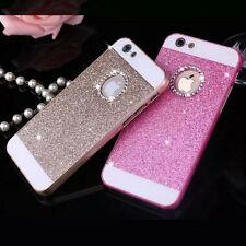 Shining Crystal glitter Hard PC Cover Case For i Phone 6 4.7 Plus + 5.5'' 5s 5