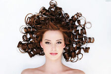 HAIR SALON HAIRDRESSING HAIRSTYLE BEAUTY POSTER PRINT ART LAMINATED OPTION HSH01