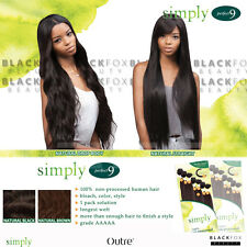Outre Simply Perfect 9 Brazilian 100% non-processed human hair 1 pack solution