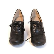 """Chelsea Crew """"Marilyn"""" , Lace Up Oxford Pump, Vintage Inspired w/ Cut out Detail"""