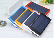 Portable Solar Charger 300000mAh Power Bank Mobile Battery for iPhone LG Adapter