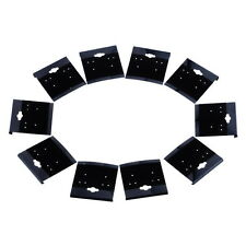 Wholesale Lots Black Plain Hanging Earring Cards With Lip Jewelry Display Hang