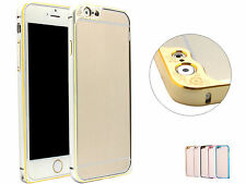 Thin Aluminum Alloy Metal Frame Bumper Camera Case Cover For 5.5 iPhone 6 Plus