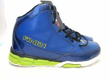 MENS AND1 BLUE & NEON GREEN BASKETBALL/ATHLETIC/TENNIS SHOES SIZE 9.5/10.5/11/12