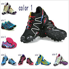 New Women's Fashion Outdoor Running Casual Speedcross 3 Sports Shoes 9 Color 1-9