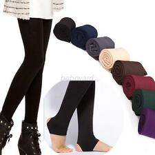 Brushed Lining Fleece Thick Tight Yoga Pants Trample Feet Warm trousers Legging